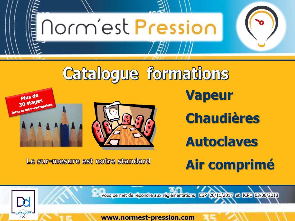 Catalogue de Formation professionnelle ESP