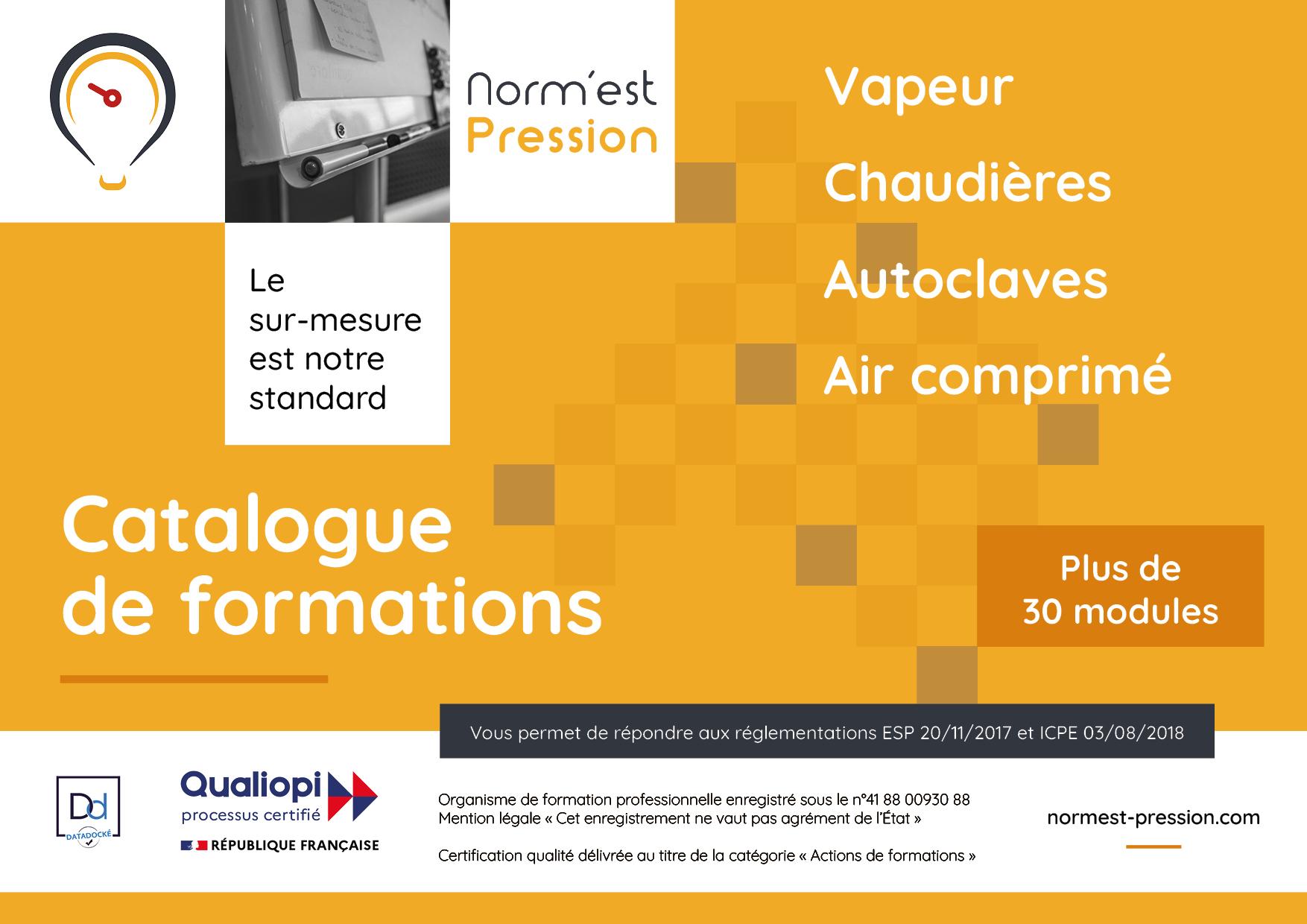 Formation Vapeur Chaudières Autoclaves